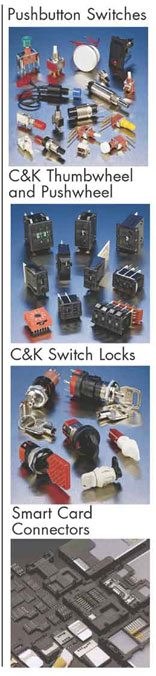 Elproma CK Toggle, Rotary, Slide, Key and Tactile Rocker, Thupwheel and Pushwheel Switch Lock en Dipswitches